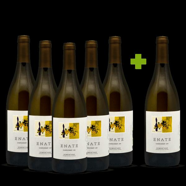 Enate Chardonnay 234: 5+1 gratis